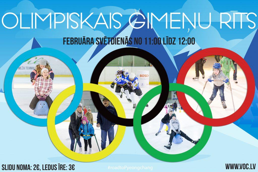 """""""Ģimeņu rīti"""" februārī – Olimpisko spēļu zīmē"""