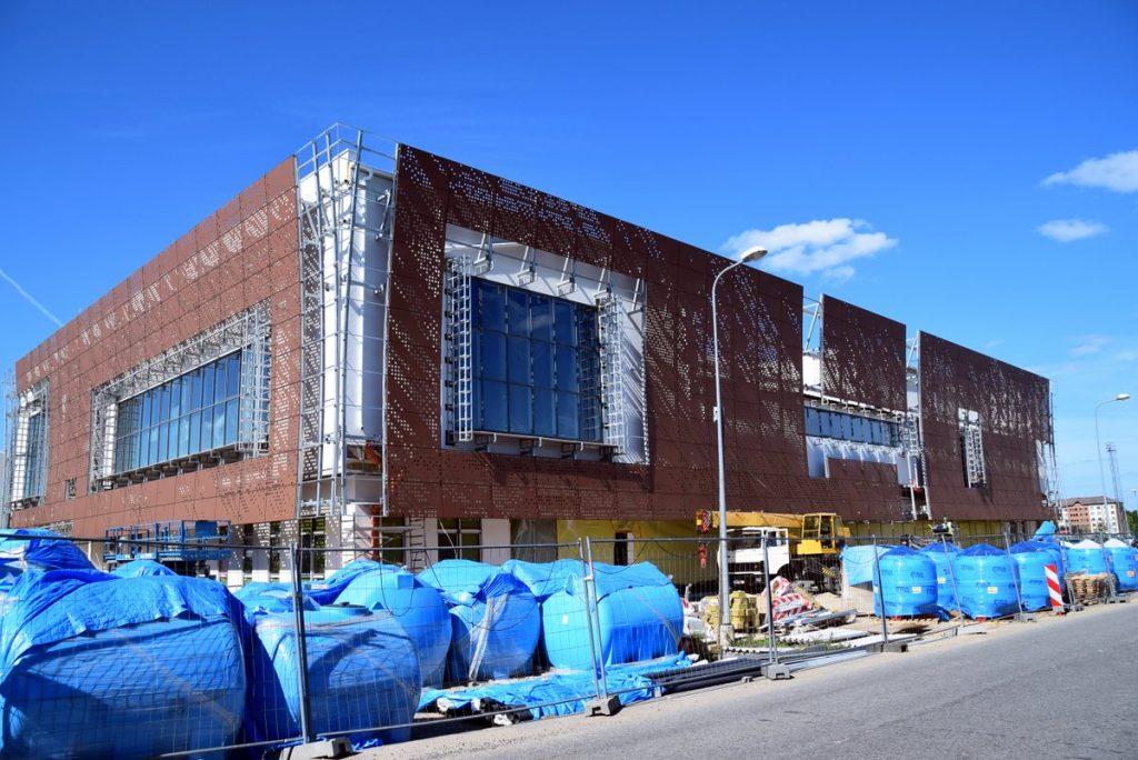 Turpinās Vidzemes Olimpiskā centra peldbaseina kompleksa būvniecība