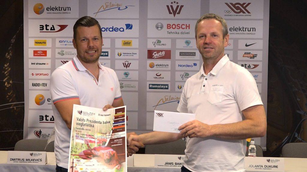 ''Sportland'' valdes priekšsēdētājs Sandijs Pinkulis un Artis Jansons