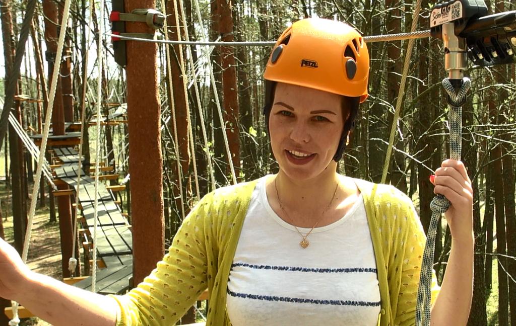 4. maijā pirmos apmeklētājus gaidīs Sajūtu parka taka kokos