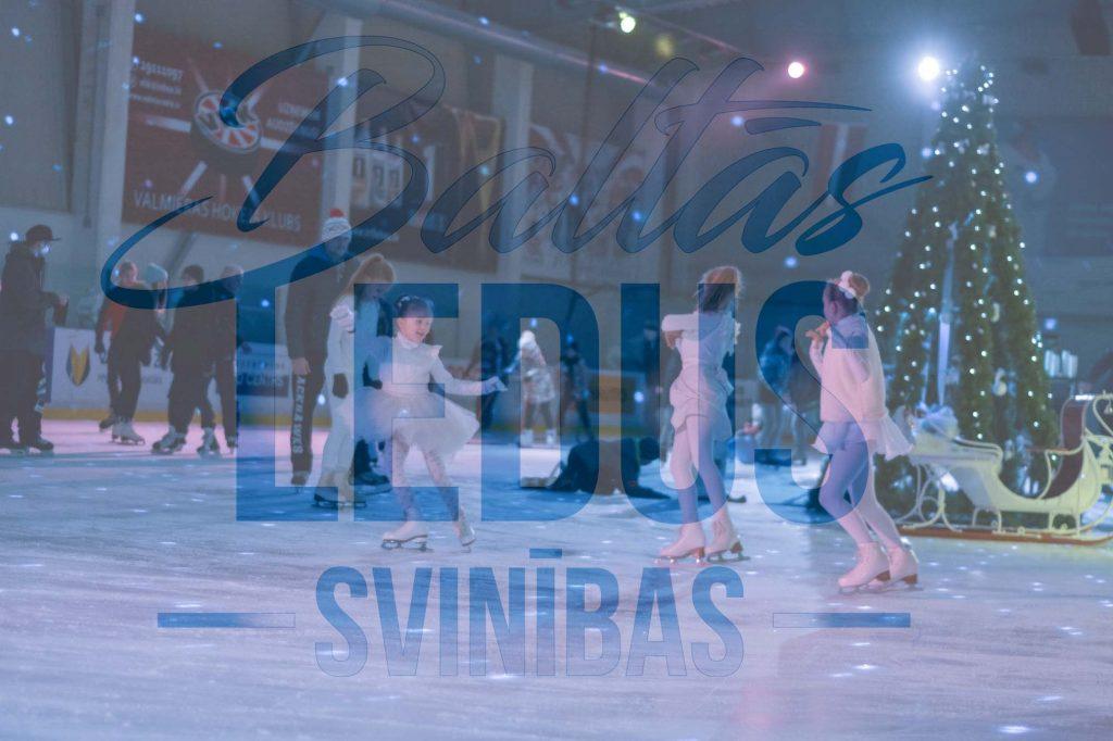 """""""Baltās ledus svinības"""" Vidzemes Olimpiskajā centrā"""