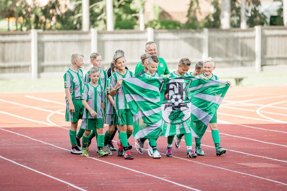 J.Daliņa stadionā noskaidroti Latvijas labākie U-11 vecuma futbolisti